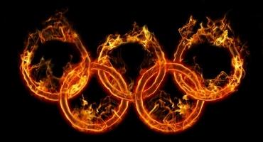 KOK Fighter Ruslan Karaev took part in the Olympic Fire relay race