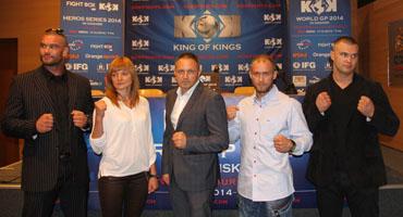 KOK WORLD GP 2014 IN GDANSK Press conference