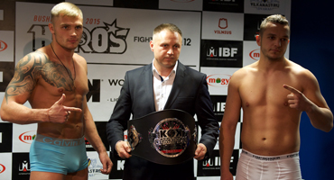 KOK WORLD GP in VILNIUS 2015.11.14  PRESS CONFERENCE AND OFFICIAL WEIGH IN RESULTS