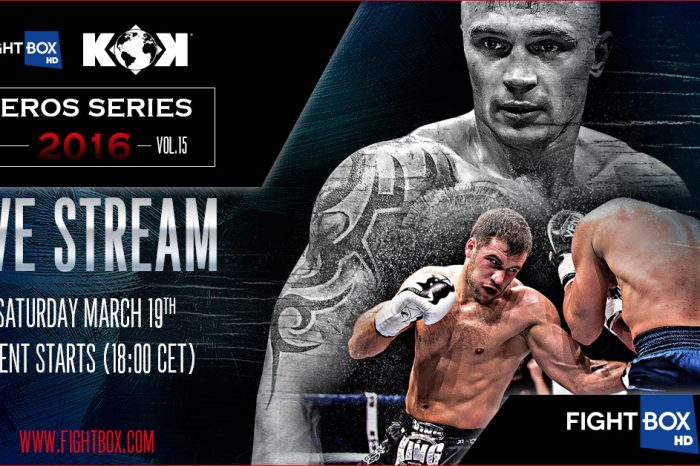 KOK WORLD SERIES 2016 Vol.36 will be available on EVERSPORT.TV 20:30 CET