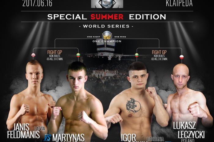 FightBOX KOK SUMMER SPECIAL EDITION 2017 Vol.26