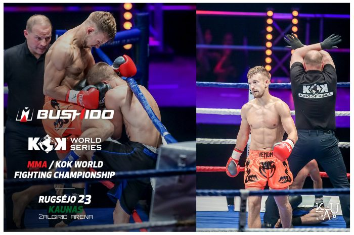 Rising star of martial arts Martynas Danius: This fights will start with strong strikes!