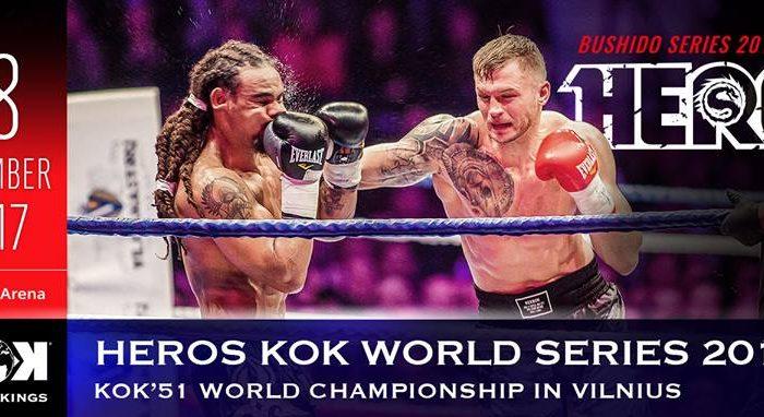 FightBOX KOK HERO'S WORLD SERIES  2017 IN VILNIUS RESULTS