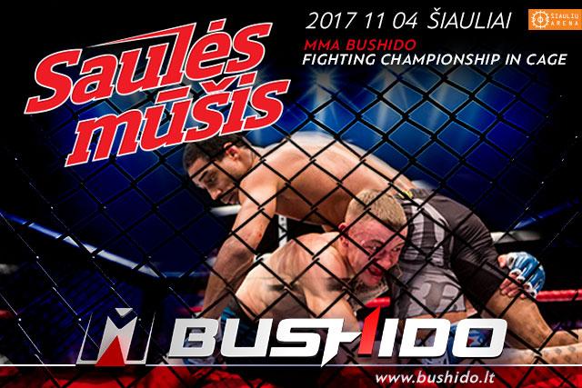 MMA BUSHIDO'72- SAULES MUSIS RESULTS