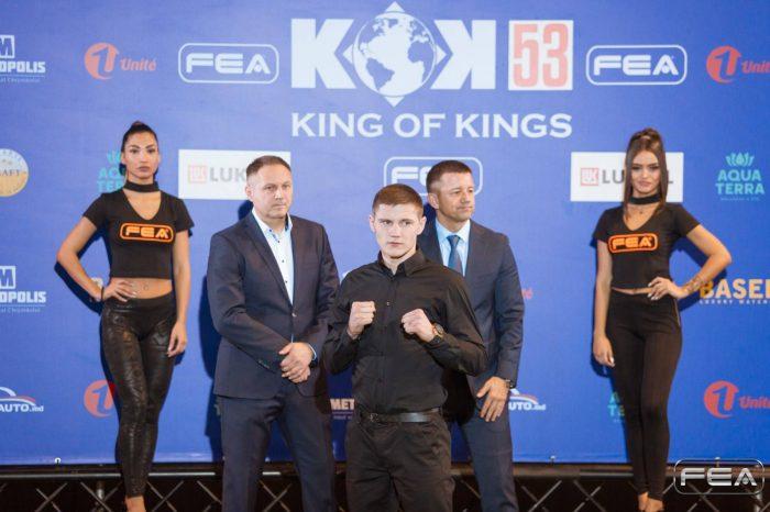 "KOK'53 PRESS CONFERENCE ""KOK'53 WORLD GP IN MOLDOVA"""
