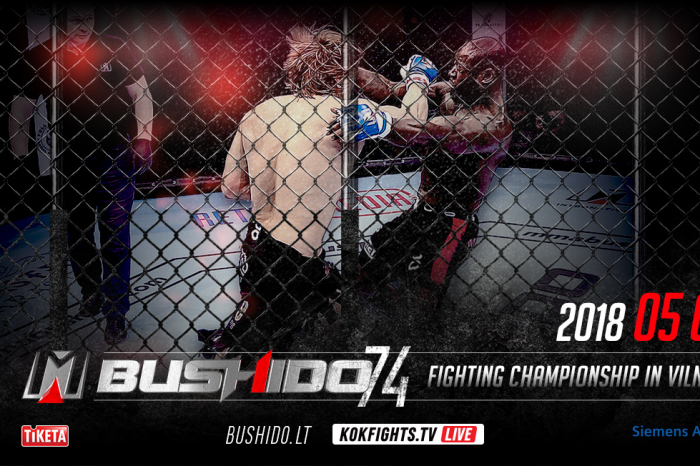 The 4th of May 2018  the biggest MMA event of the year MMA'74 FIGHTING CHAMPIIONSHIP IN VILNIUS !