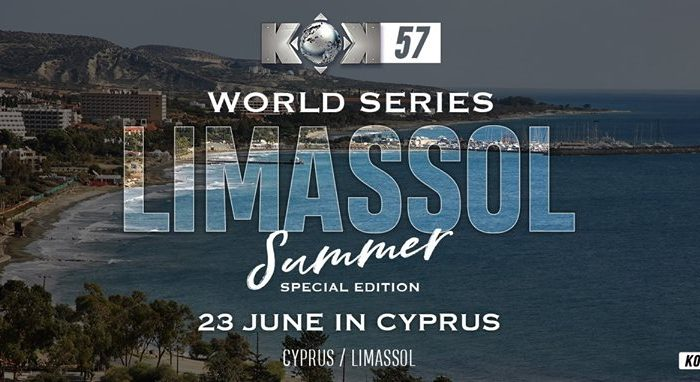 Results from KOK'57 World GP in Limassol, Cyprus- 23.06.2018