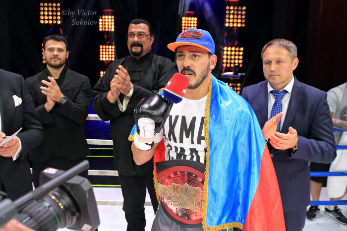 Zabit Samedov ( Azerbaijan) New KOK EUROPE CHAMPION 2018  winer by points  50 : 46 after 5 rounds.