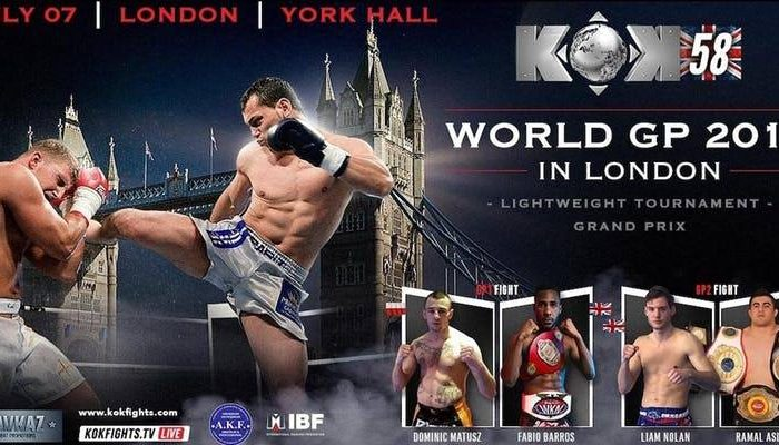KOK HERO'S WORLD SERIES 2018 LONDON RESULTS