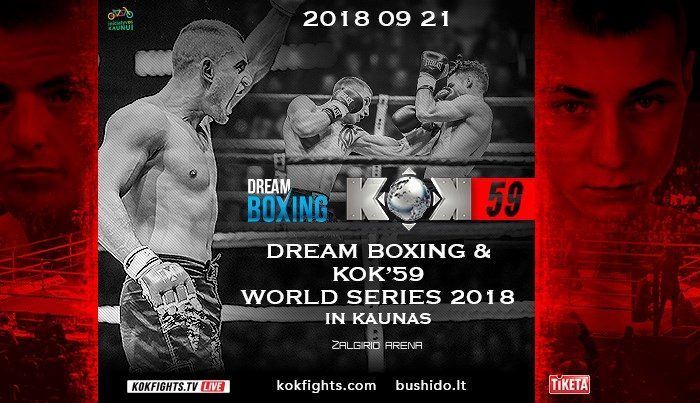 DREAM BOXING & KOK'59 WORLD SERIES 2018 IN KAUNAS RESULTS