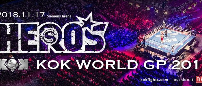KOK Hero's Series & KOK World GP in Lithuania Results