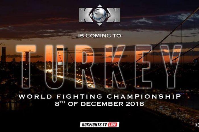 KOK World Fighting Championship in Turkey 08.12.2018 Istanbul – RESULTS