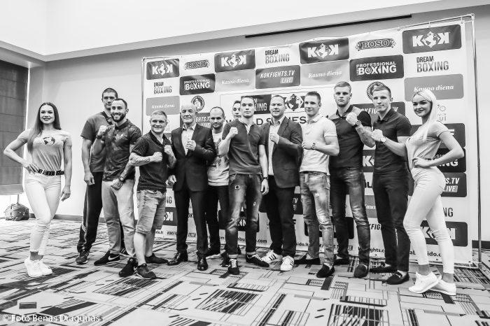 DREAM BOXING AND KOK'59 WORLD SERIES 2018 IN KAUNAS PRESS CONFERENCE