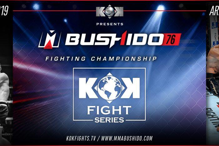 KOK Fight Series & MMA Bushido Fighting Championship