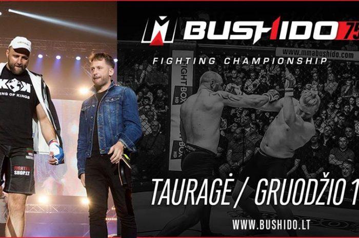 MMA BUSHIDO'75 TOURNAMENT IN TAURAGE- RESULTS