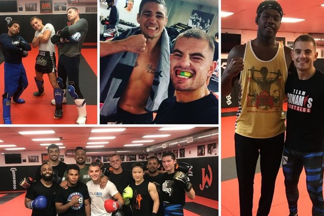 """IGNAS BARYSAS: LIFE AND WORK, MONTH OF TRAINING IN THE USA, """"JACKSON WINK"""" ACADEMY, METTING WITH J.JONES AND STRENGHTS AND WEAKNESSES"""