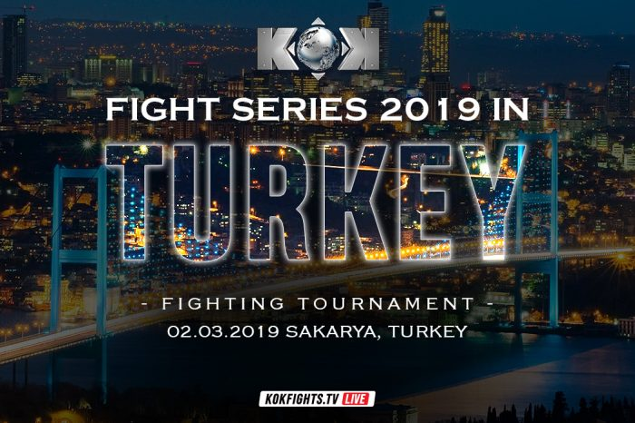 KOK Fight Series 2019 in Turkey 02.03.2019