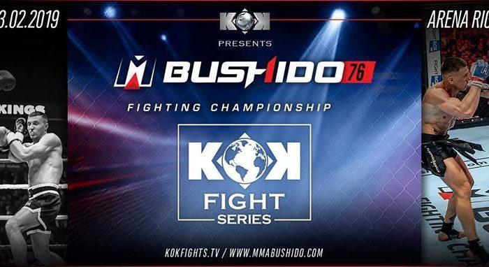 Rumble in Riga: KOK Fighter Series in Latvia this Saturday