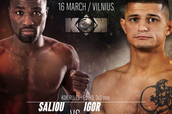 """I. Osinin about his future fight: """"it will be a great celebration"""""""
