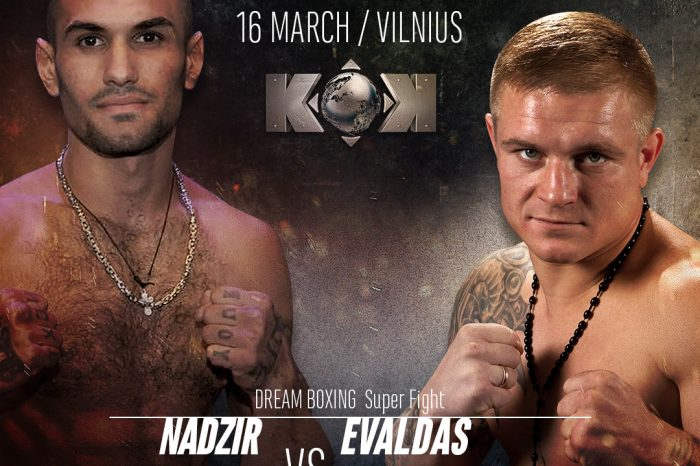 """E. Petrauskas preparing for the second professional fight: """"I cannot let myself be lazy"""""""