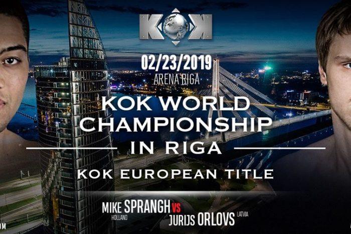 FightBox's KOK Heroes Series – LIVE from Riga, Latvia 23.02.2019