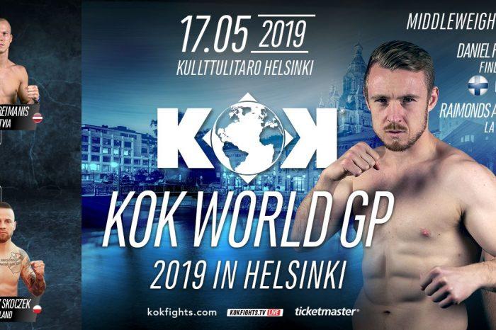 KOK World GP in Helsinki 17.05.2019