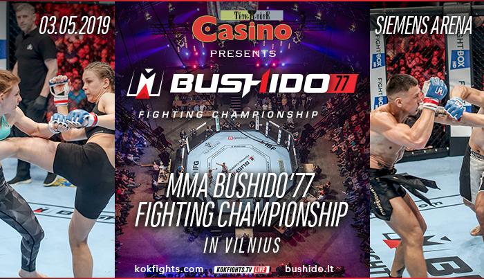 MMA Bushido'77 Fighting Championship 2019 !