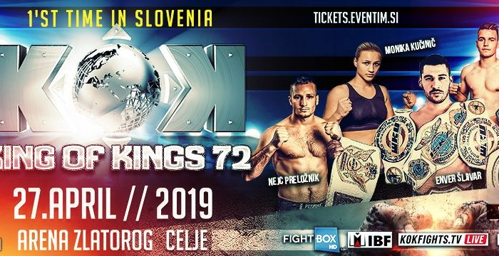 KOK'72 World Series in Slovenia 27.04.2019