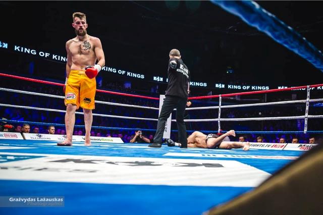 Matei vs. Viksraitis for the KOK Lightweight Championship