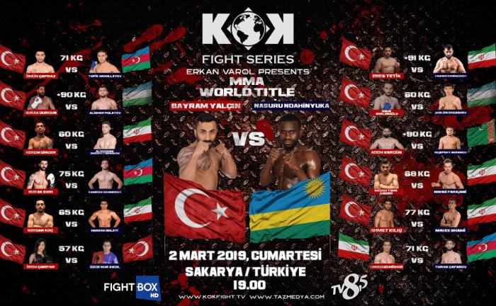 KOK World Series Sakarya: Fight Card and Viewing Information