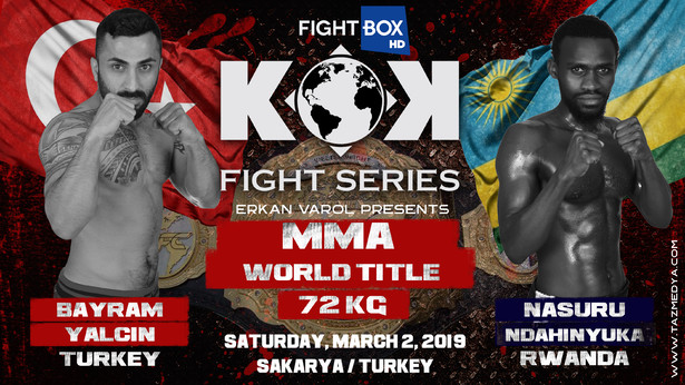 KOK Kickboxing – LIVE from Sakarya, Turkey 02.03.2019