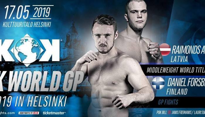 KOK Finland: Fight Card Released