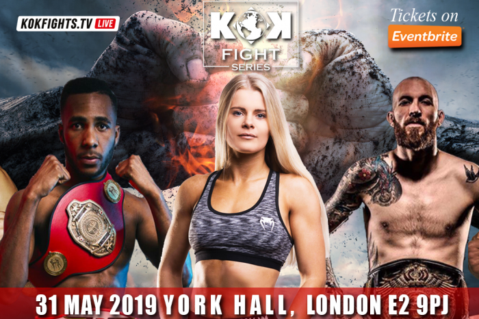 KOK FIGHT SERIES IN LONDON 31.05.2019