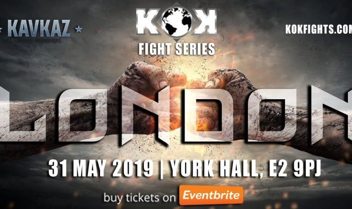 KOK Fight Series London Preview