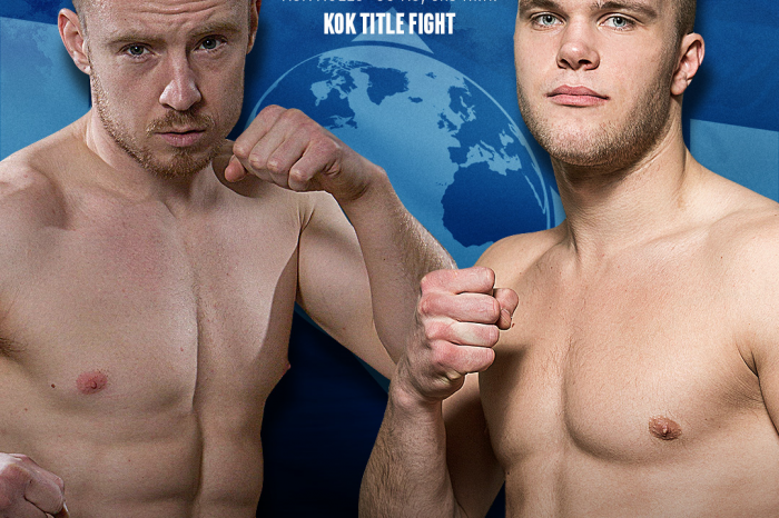 Forsberg vs. Aukstikalnis II – Rematch for the KOK Middleweight Title