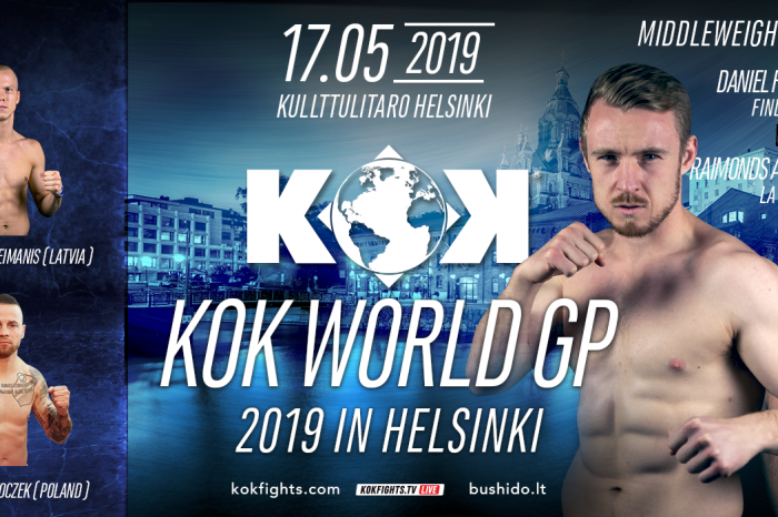 KOK World GP in Helsinki 17.05.2019