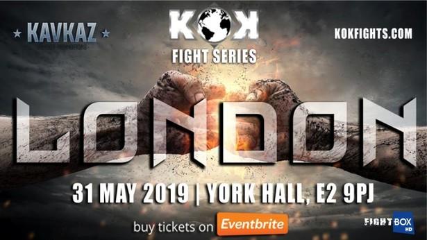 FightBox KOK Hero's World Series – LIVE from London, England 31.05.2019