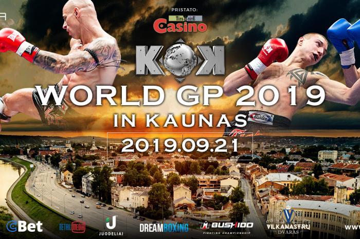 KOK WORLD SERIES 2019 IN KAUNAS 21.09.2019
