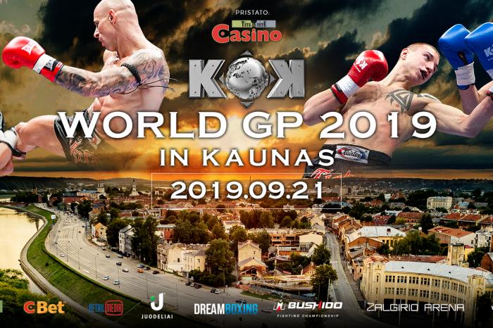 KOK'78 WORLD SERIES 2019 IN KAUNAS 21.09.2019