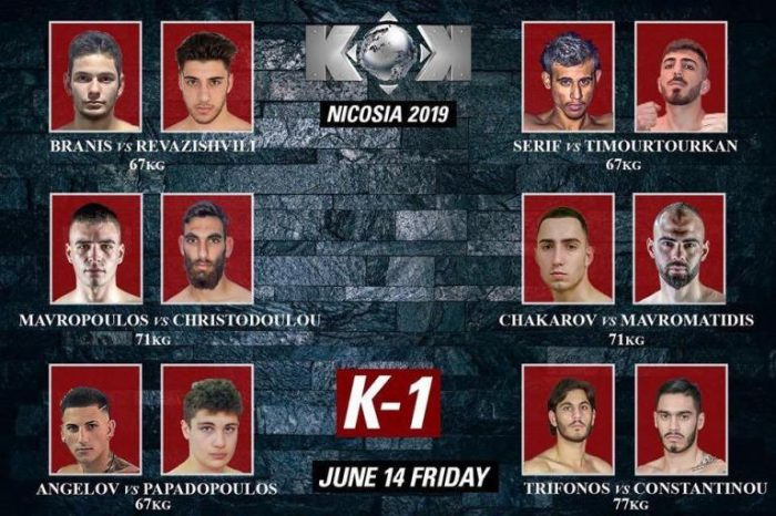 KOK World Series Cyprus: Fight Card and Viewing Information