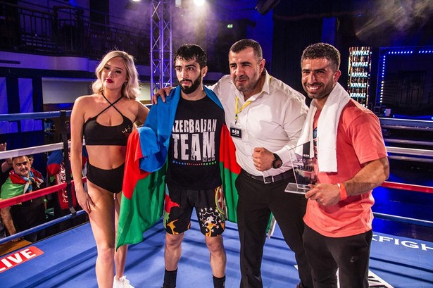 Results for the FightBox KOK Hero's Series from London, England 31.05.2019