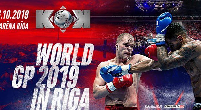 KOK World GP in Riga 26.10.2019 !