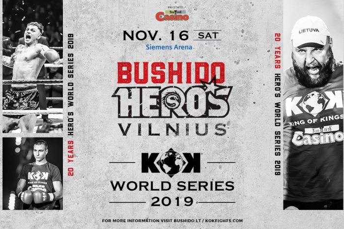 KOK'80 WORLD SERIES 2019 & MMA BUSHIDO HERO'S 16.11.2019