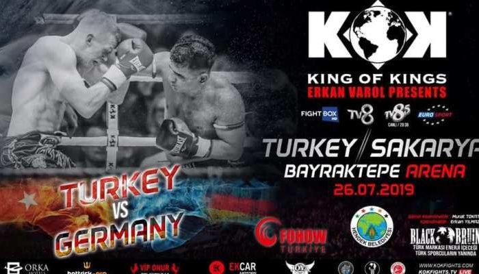 KOK Fights in turkey 26.07.02019