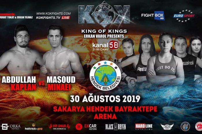 KOK Fight Series in Turkey 30.08.2019