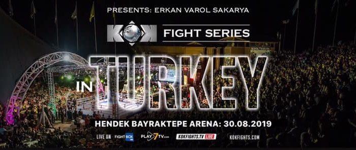 KOK Fight Series Turkey Streaming FREE Friday
