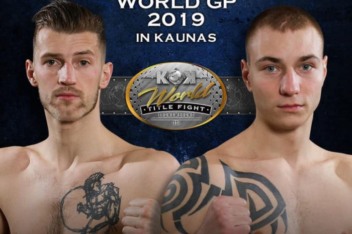 M. Narauskas: He will get all the answers at the ring !