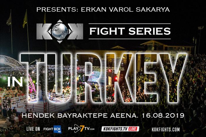 KOK'77 Fight Series 16.08.2019 in Turkey !