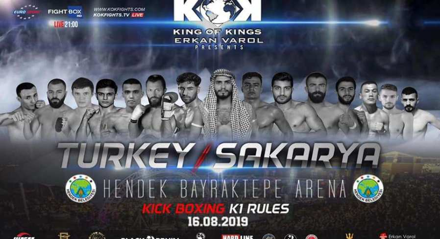 Fights Announced for Friday KOK Event – kokfights lt