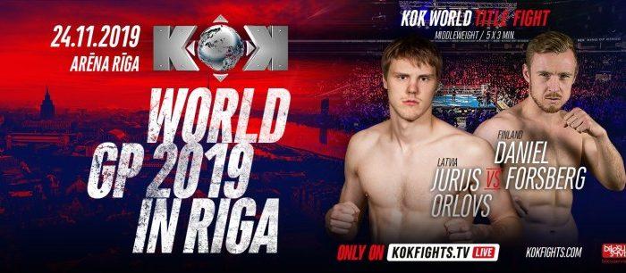 KOK'81 World GP in Riga 24.11.2019 !